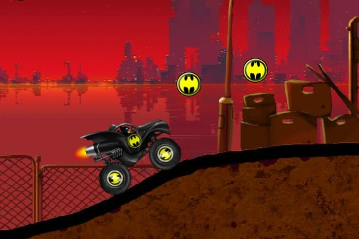 Batman Truck Game