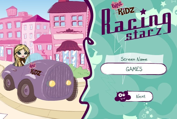 Bratz Kidz Racing Stars Game