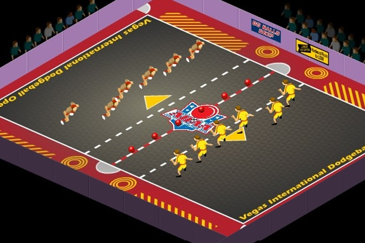 All-Star Dodgeball - Online game MoFunZone