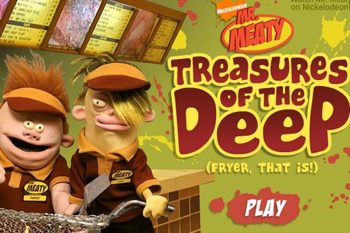 Mr Meaty Treasures Of The Deep Game