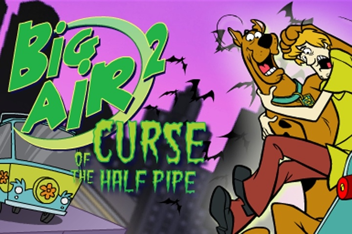 Scooby Doo - Big Air 2 Curse Of The Half Pipe Game