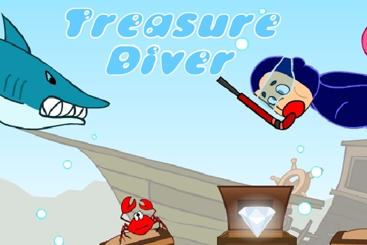Treasure Diver 1 Game