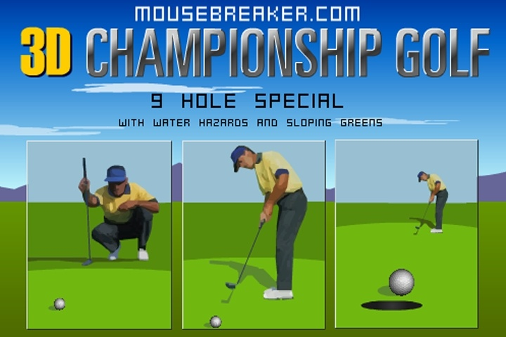 3D Championship Golf Game