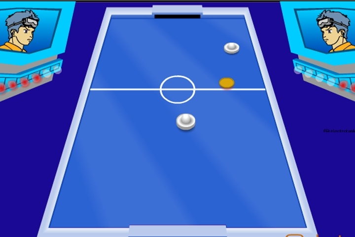 Electro Air Hockey Game