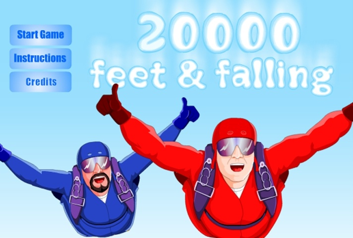20000 Feet And Falling Game