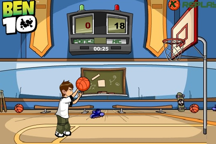Ben 10 Basketball Star Game