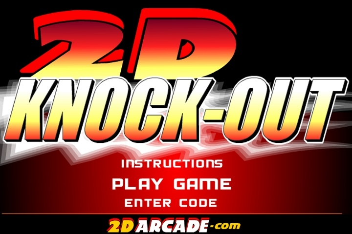 2D Knock-Out Boxing Game