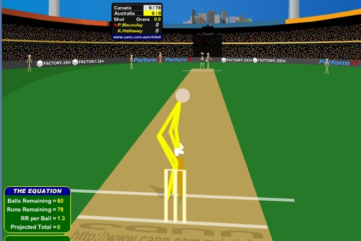 Cann Cricket Game