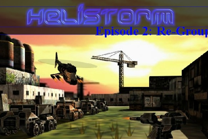 Helistorm 2 Re-Group Game