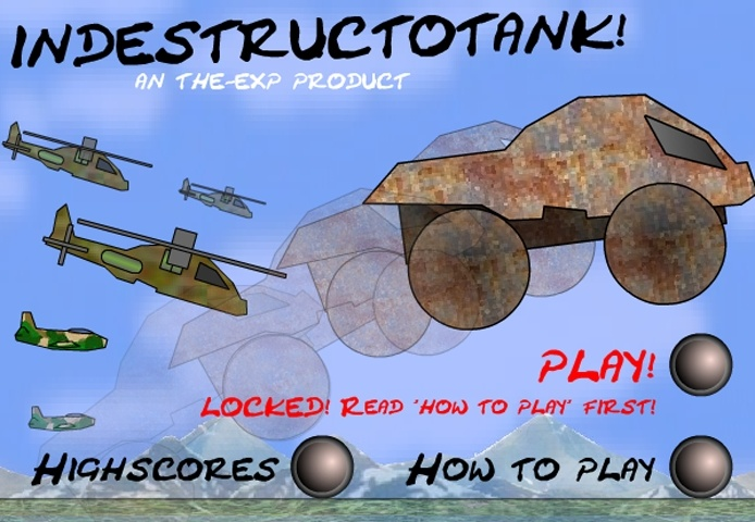 Indestructable Tank Game