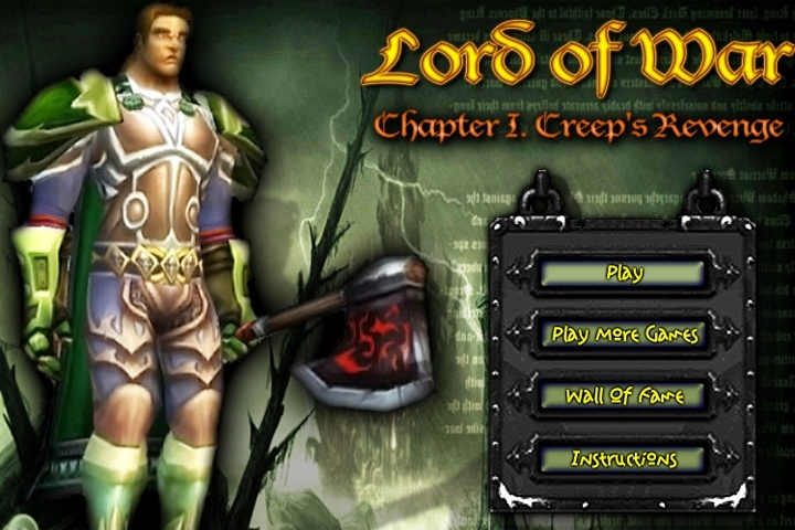 Lord Of War Chapter 1 Creep's Revenge Game