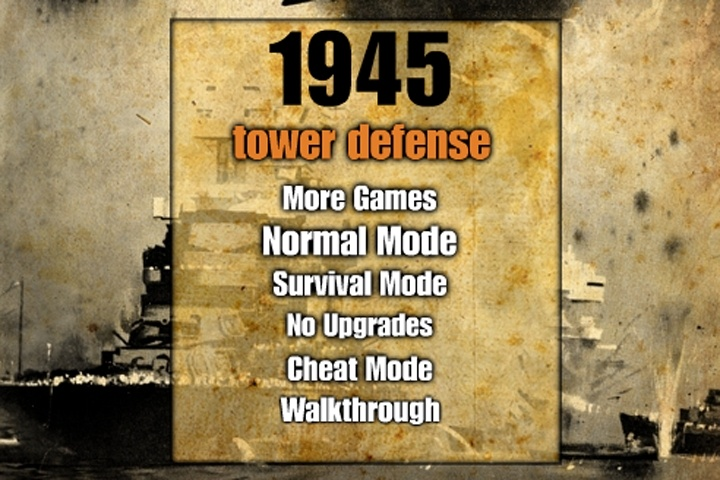 1945 Tower Defense Game