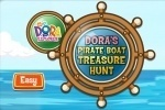 Dora The Explorer Pirate Boat Treasure Hunt game free online