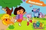 Dora The Explorer Coloring Book game free online
