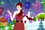 Christmas Dresses Dress Up game free online