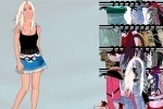 Britney Dress Up game free online