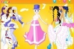 Angel In A Fairy Tale Dress Up game free online