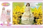 Barbie Doll With Sunflowers Puzzle game free online