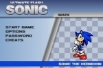 play Ultimate Flash Sonic game free online