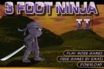play 3 Foot Ninja 2 game free online