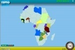 Africa Geo Quest game free online