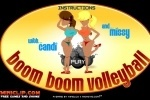 Boom Boom Volley Ball game free online