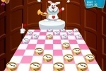 Checkers Of Alice In Wonderland game free online
