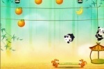 Panda Bounce Fruit Collector game free online