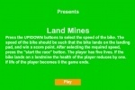 Bike Stunt Land Mines game free online