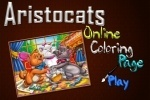 Aristocats Online Coloring Page game free online