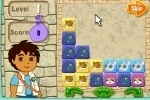 Diego's Puzzle Pyramid game free online