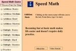 Speed Math game free online