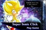 Super Sonic Click game free online