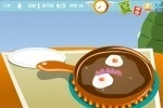 Breakfast Cooking Egg and Hotdogs game free online