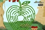Apple Maze game free online