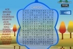 Word Search Cards game free online