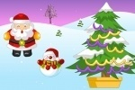 play Christmas Snow World Decoration game free online