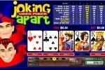 Joking Apart Video Poker game free online