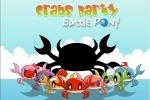 Crab's Party Battle Pong game free online