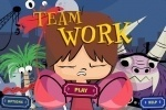 Fosters Team Work game free online