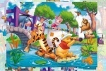 Winnie The Pooh With Tigger And Piglet Jigsaw Puzzle