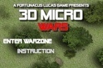 play 3D Micro Wars game free online