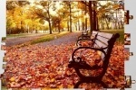 Autumn Park Jigsaw game free online