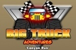Big Truck Adventures Canyon Run game free online