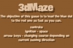 play 3D Maze game free online