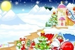 Christmas Town Decorations game free online