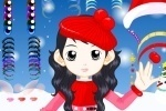 Christmas Winter Lady Makeover game free online