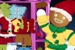 Christmas Gingerbread Man Dress Up game free online