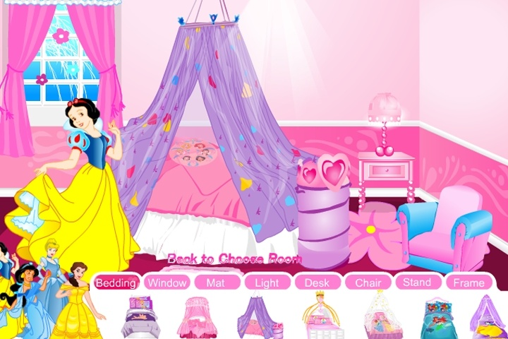 Disney Princess Room Game