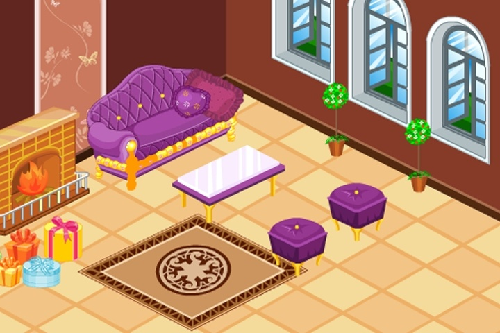 Online Home Decoration Games: Doll House Luxury Decoration Game